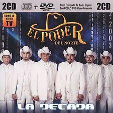 La Decada by El Poder del Norte DVD with 11 Videos + CD with 13 Tracks