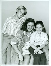YOUNG SHANNEN DOHERTY CHAD ALLEN KERI HOULIHAN OUR HOUSE ORIG 1986 NBC TV PHOTO