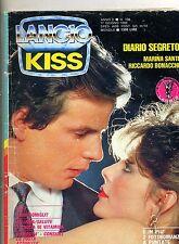 KISS # Mensile di Fotoromanzi - Anno X - N.106 # 17 Giugno 1986 Lancio