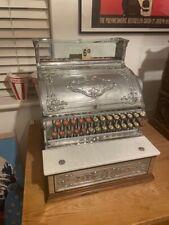 More details for working 1910 vintage antique nickel & brass national cash register