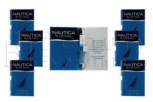 Nautica Blue Sail 6PC (0.04oz / 1.2ml each) EDT Sample Vial Men's Cologne
