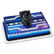 Black Panther Warrior King Mask cake decoration Decoset cake topper set