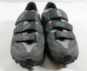 Bontrager Race MTB WSD Womens Cycling Shoes Race Mountain Gray Size US 9.5