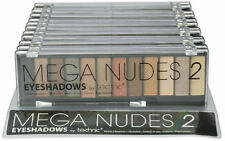 Technic Mega Nudes 2 Eyeshadow Palette - Matte Natural Makeup Smokey Eyes Browns
