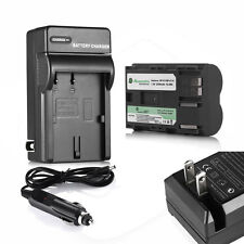 2200mAh BP-511A Battery + Charger for Canon EOS 20D 30D 40D 50D 5D BP-512 BP-514