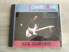 blues CD texas RONNIE EARL & THE BROADCASTERS Soul Searching *1989 USA IMPORT*