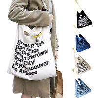 High Quanlity Canvas Tote Bag - NEW Plain Shopper Shopping Shoulder Handbag 2015