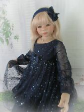 """""""Enchanted Evening"""" Starry Night Dress Set For Your Special Himstedt Doll."""