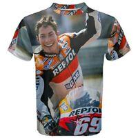 Nicky Hayden Legend Sublimation Men's Sport Mesh Tee T-Shirt Size XS-5XL