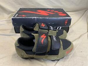 Specialized EL GATO SPORT Mountain Biking Shoes Green/Black Size 36/4.5 - NEW