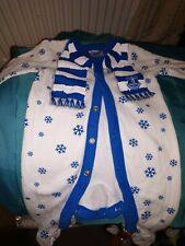 Everton Official Royal Blue Baby Sleepsuit - Age 0 - 3