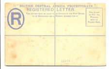 B.C.A. PROTECTORATE PS REG COVER--STAINS -