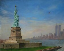 Artist's Original Oil Painting- the Statue of Liberty