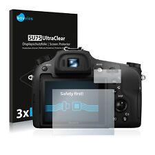 6x Displayschutzfolie Sony Cyber-Shot DSC-RX10 III Schutzfolie Klar Folie
