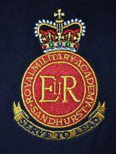 T-SHIRT M MEDIUM ROYAL MILITARY ACADEMY SANDHURST ENGLAND SERVE TO LEAD SHIRT