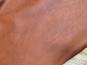 ANTIQUE GRUNGE LEATHER FULL HIDE - TAN  1.3 - 1.5mm