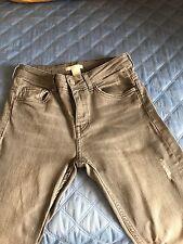 Jeans H&M taglia eur  34 grigi