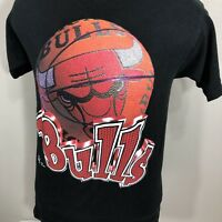 VTG Chicago Bulls T Shirt 90s NBA Jordan Pippen Tee Made USA Medium