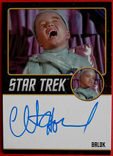 STAR TREK TOS 50th CLINT HOWARD as Balok VERY LIMITED Autograph Card BlackSeries