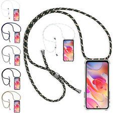 Handy Hülle mit Band für Samsung iPhone Handykette Schutzhülle Kordel Case Cover