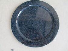 WAECHTERSBACH - Western Germany, Blue Speckled Dinner Plate(s) - Unknown Pattern