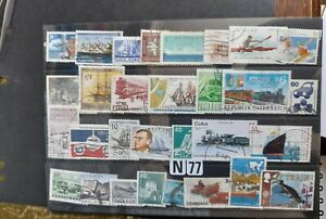 Thematic stamps as scan transport all world used.