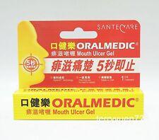 ORALMEDIC Mouth Ulcer Gel Treatment Oral Care Pain Relief