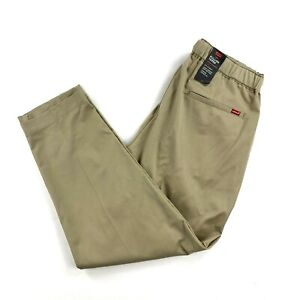 Levi's Pull On Tapered Pants Khaki Mens Medium New