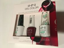 OPI Gel Color Top Coat, Base Coat & Malaga Wine Gift Set *FREE SHIPPING*