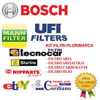 KIT TAGLIANDO OLIO+FILTRI LANCIA LYBRA 1.9 2.4 JTD + 5 LT OLIO IP SYNTHETIC BASE