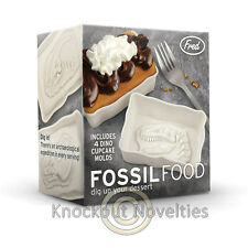 Fossil Food Cupcake Mold Funny Novelty Silly Gag Gift Bakeware Mould