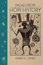 Pages from Hopi History by Harry C. James (1974, Trade Paperback)