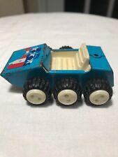 Vintage Buddy L Blue 6 Wheel Dune Buggy Pressed Steel Toy Car Metal 1970s