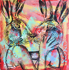 GILLIE AND MARC-direct from the artists-authentic artistic print love together