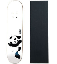 ENJOI Skateboards WHITEY PANDA Deck Only skateboard with Mob Grip