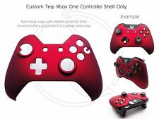Brand New Xbox One Controller Red Velvet Soft Front Shell Unique Finish Mod