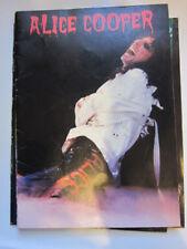 ALICE COOPER concert program 1978