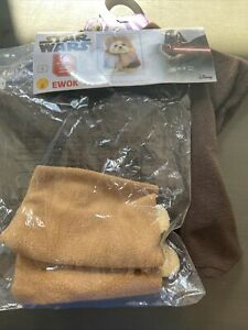 Brand New Ewok Star Wars Halloween Pet Costume Dog/Cat Pet Outfit Free Shipping