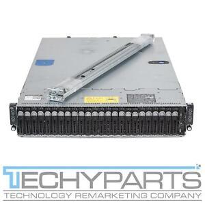 Dell Poweredge C6300 24B SFF 2U 4x C6320 8x Xeon E5-2680v4 512GB Server 1600W