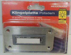 Heideman Klingeltaster 18V / 1A - Potsdam LED - Art.-Nr.: 70065