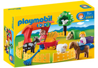 Playmobil 6963 - 123 Petting Zoo - NEW!!
