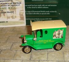 LLEDO - PROMO - 1920 MODEL T FORD VAN - BEAMISH MASONIC HALL 2006 LTD EDITION