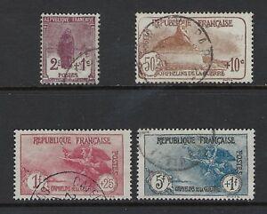 FRANCE 1924 ORPHELINS DE LA GUERRE Nº 229/232