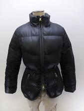 BANANA REPUBLIC zip black hour glass Down feathers puffer jacket Coat womens XS