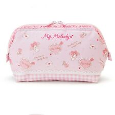 Sanrio Original My Melody Makeup Cosmetic Pouch Bag Multi Pouch Pink Japan