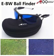 E-BW Golf Ball Finder Glasses Black/white Frame w. Case in Mould Case Great Gift