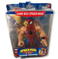 Toy Biz Marvel Spiderman Super Heroes Sand Box Spider-man Boxed Vtg 2005 (6
