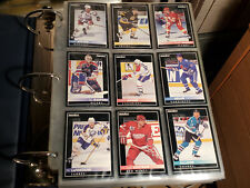 Hockey card Pinnacle 92-93 set