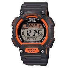 Casio Watch * STLS100H-4AV Tough Solar Illuminator Orange Grey Resin COD PayPal