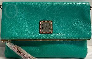 Dooney & Bourke *Bright Green* FOLD OVER  Crossbody*21150F S167B